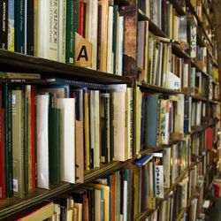 """<b>↑</b> Beloved neighborhood favorite <b><a href=""""http://westsiderbooks.com/"""">Westsider Rare and Used Books</a></b> is a treasure trove of hard-to-find titles. Patrons love the low-key vibe that's great for settling into a corner for a reading break. If"""