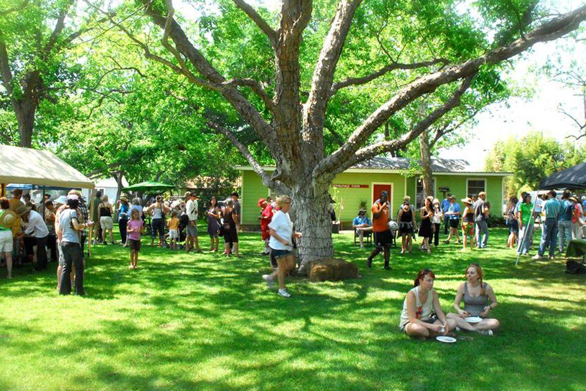 Springdale Farm during the Urban Farm Tour