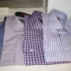 Patterned John Varvatos Star Dress Shirts
