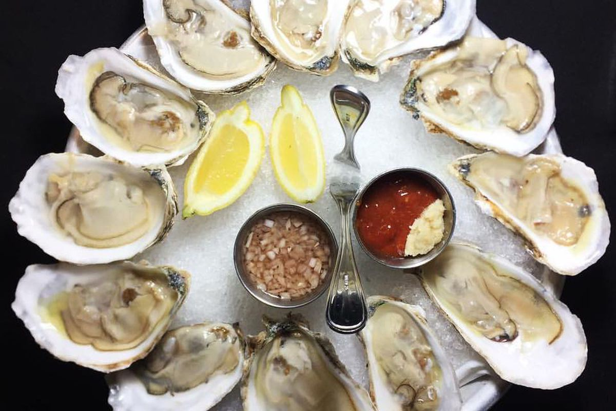 Ecco oysters