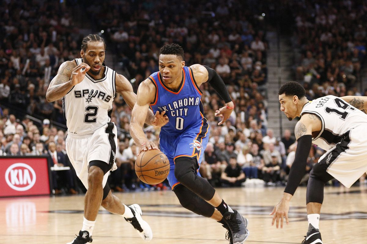 spurs vs. thunder 2016 live stream: game time, tv schedule and how