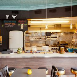 """<a href=""""http://boston.eater.com/archives/2012/06/14/a-look-inside-m3-opening-tomorrow.php"""">Boston: A Look Inside <strong>M3</strong>, Opening June 15</a> [Cal Bingham]"""
