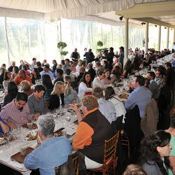 Crowds at the Terroir to Table brunch.