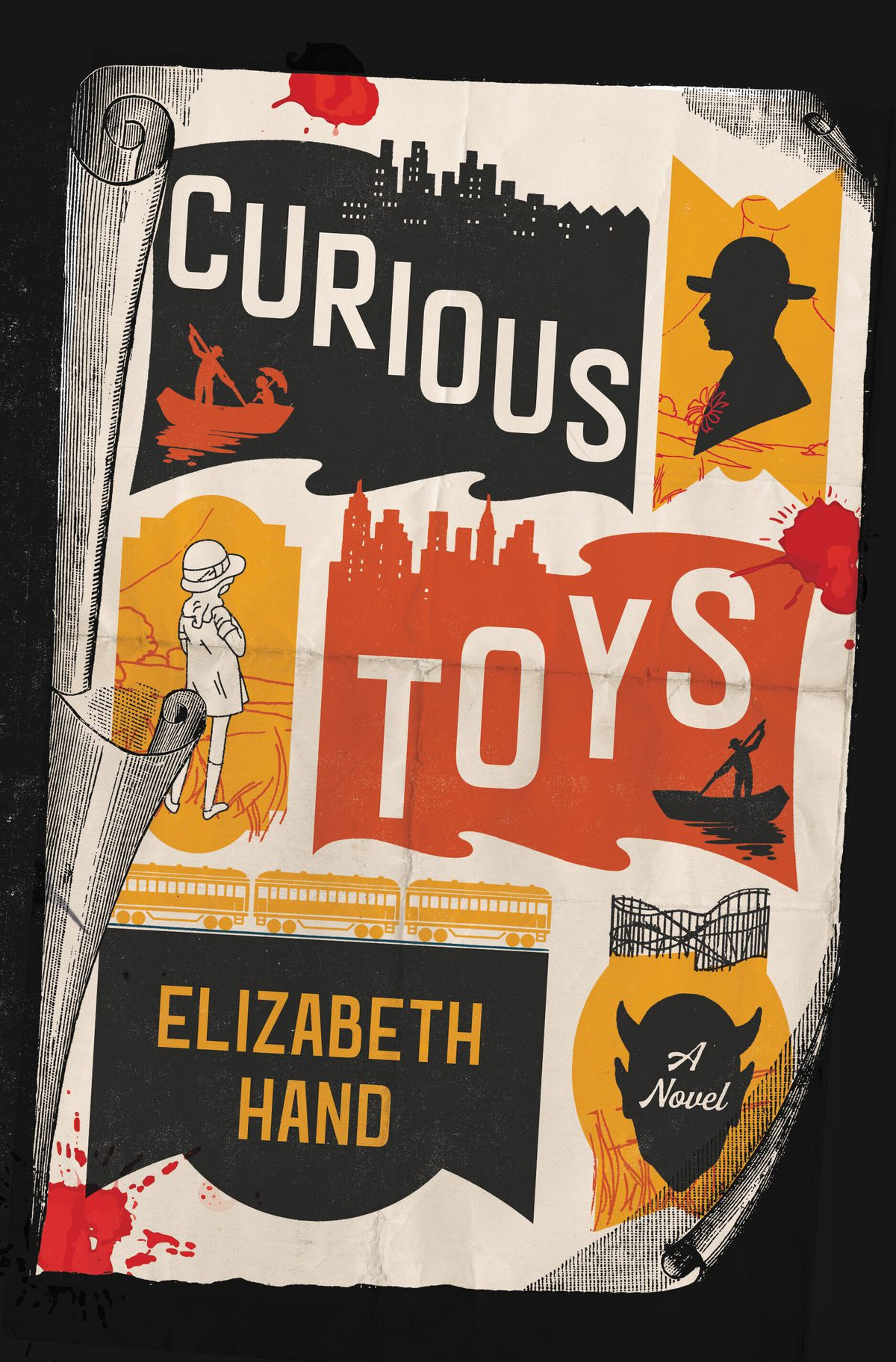 "This cover image released by Little, Brown and Co. shows ""Curious Toys,"" a novel by Elizabeth Hand."