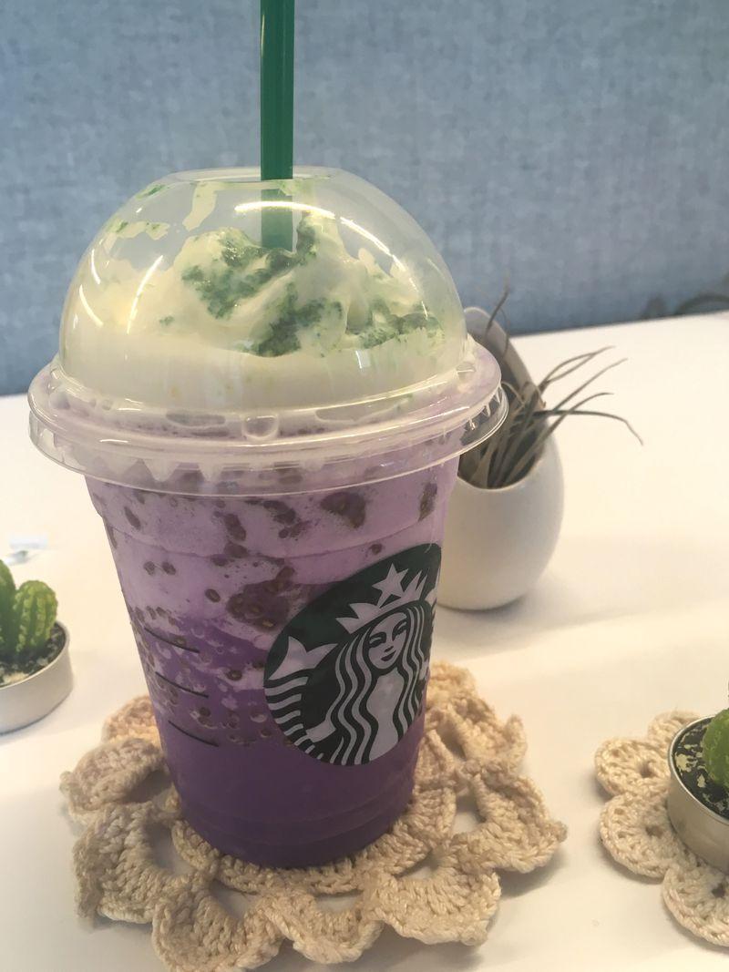 Starbucks Witch's Brew Halloween frappacino