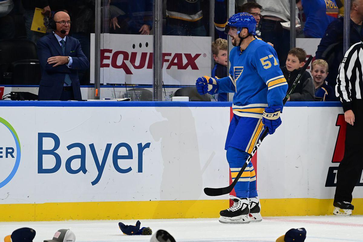 NHL: OCT 23 Kings at Blues