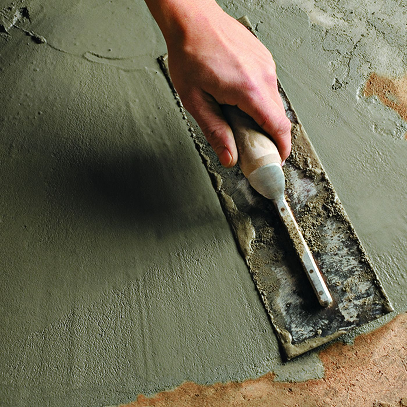 How To Patch A Concrete Floor This