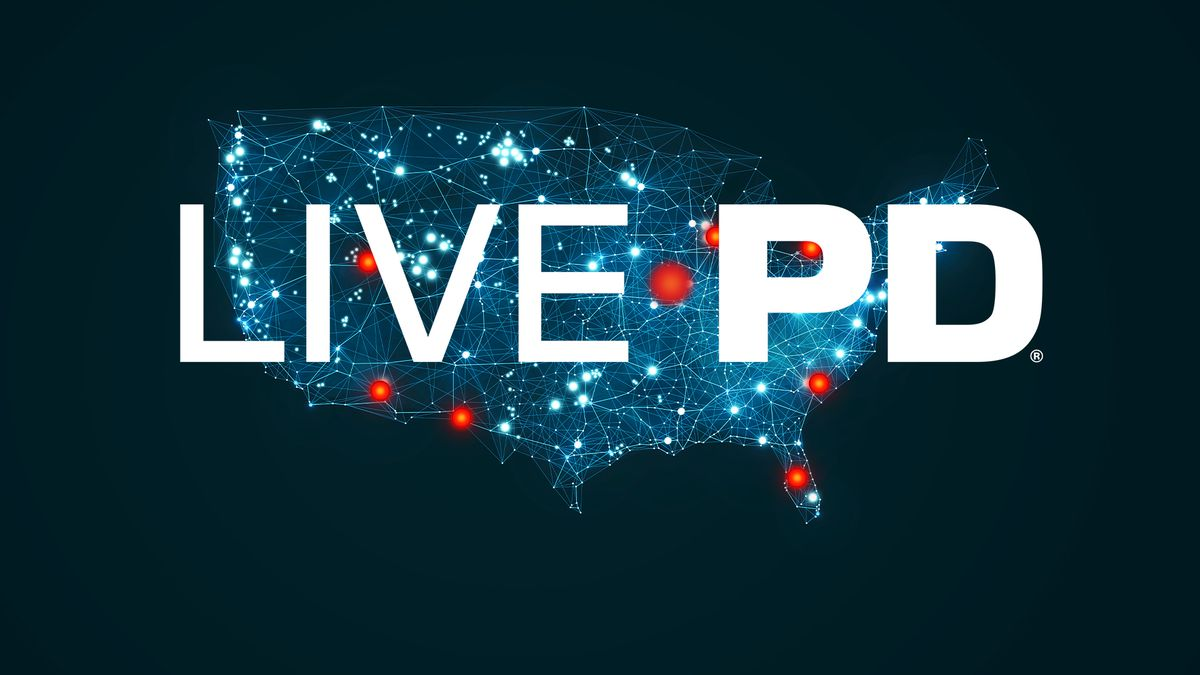 The logo for Live PD