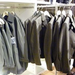 Outerwear is really the way to go with this collection.