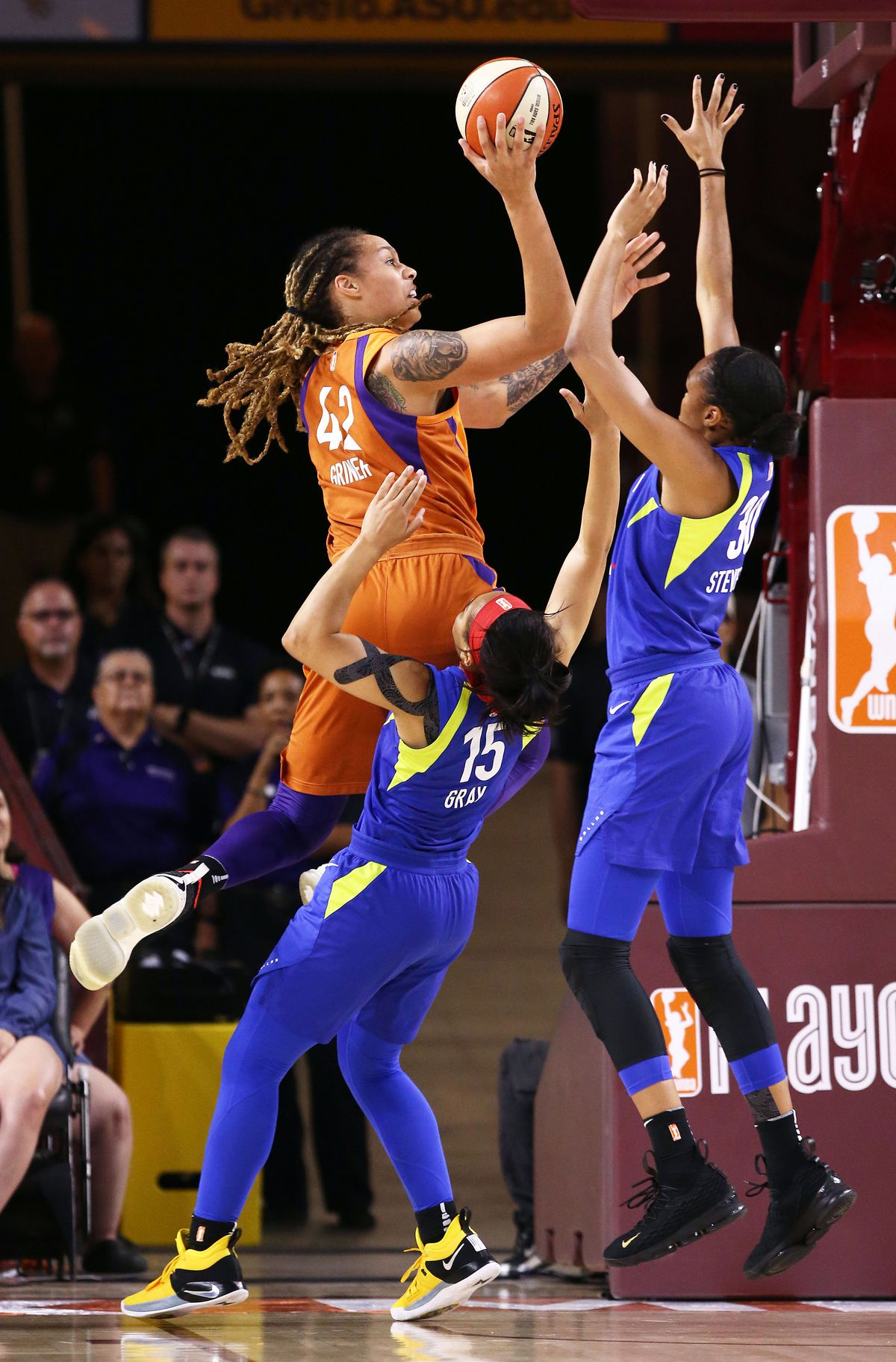 WNBA: Dallas Wings at Phoenix Mercury