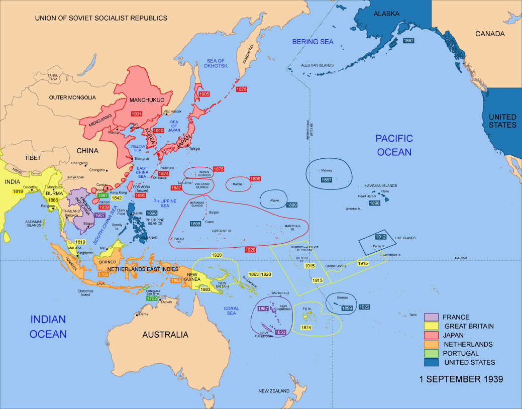 America as Pacific imperial power