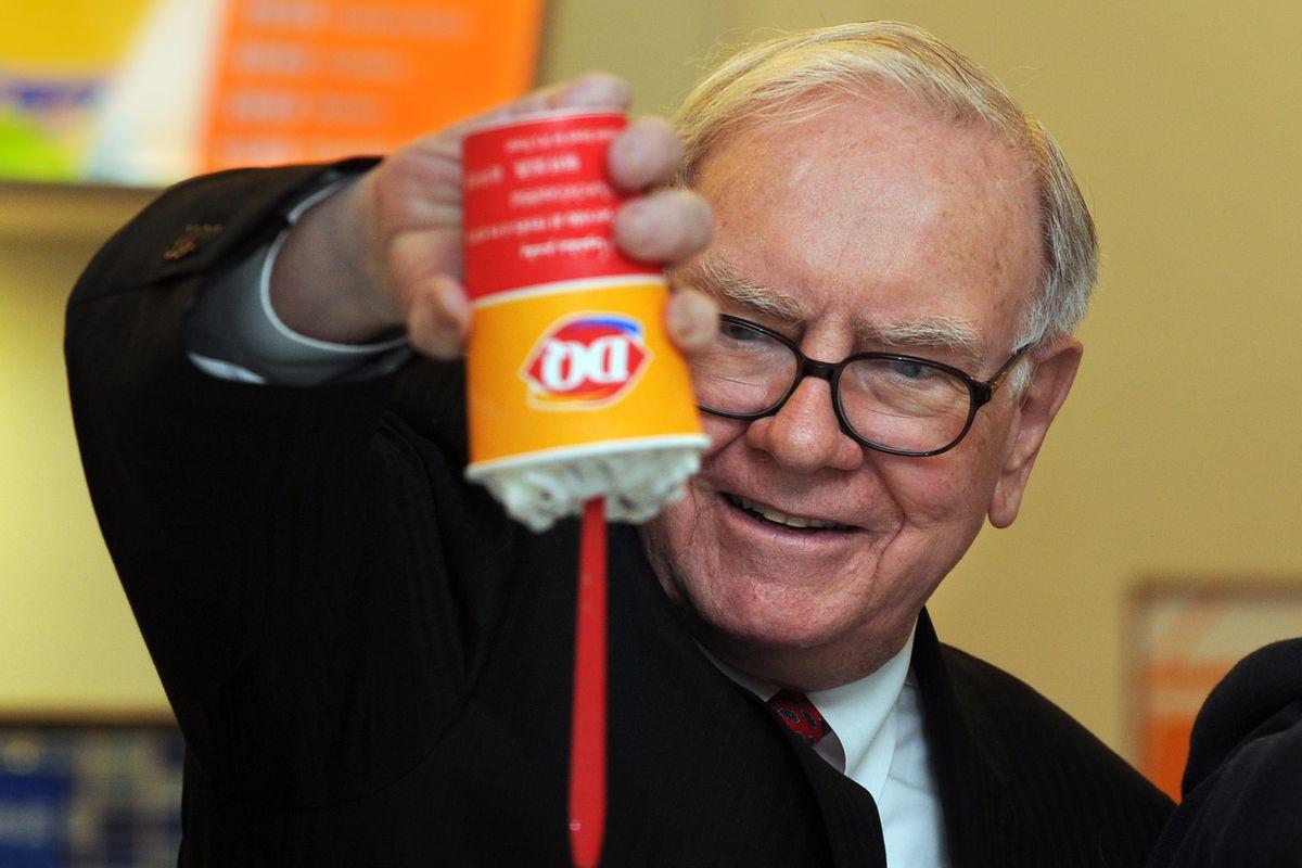 US billionaire investor Warren Buffett f