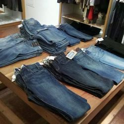 Nor did the selection of jeans.