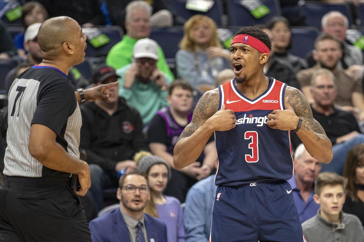 NBA: Washington Wizards at Minnesota Timberwolves