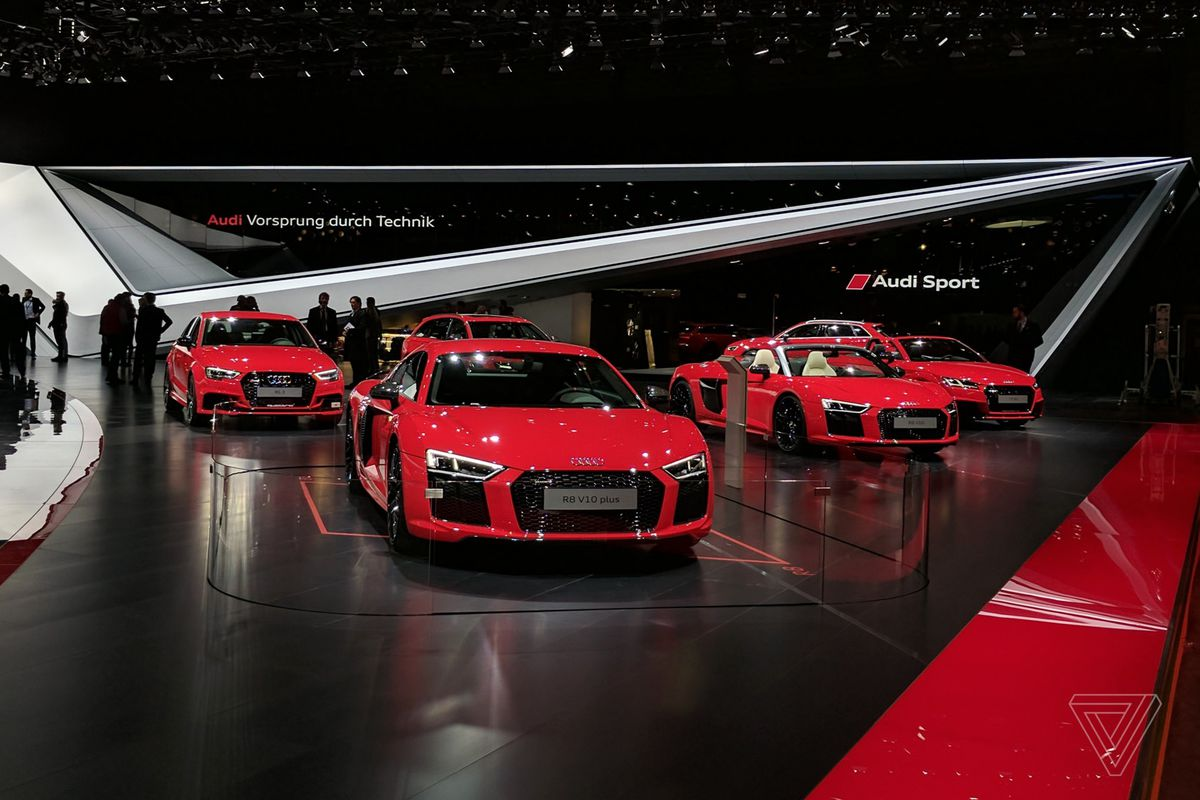 The Geneva Motor Show has been overrun by red cars - The Verge