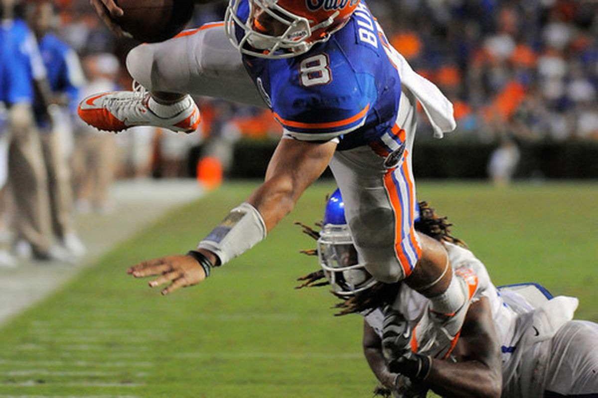 Trey Burton's amazing night against Kentucky was a rare must-see moment of the UF-UK rivalry.
