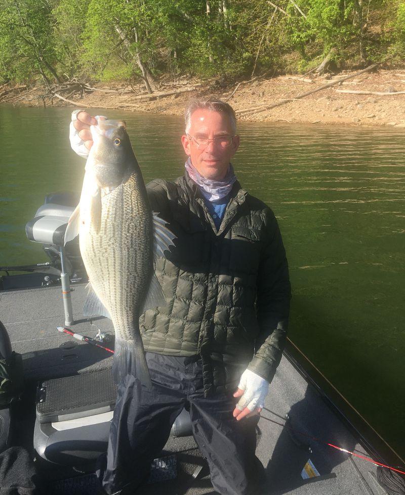 Bob Johnson found good fish and a good variety at Cherokee Lake. Provided photo
