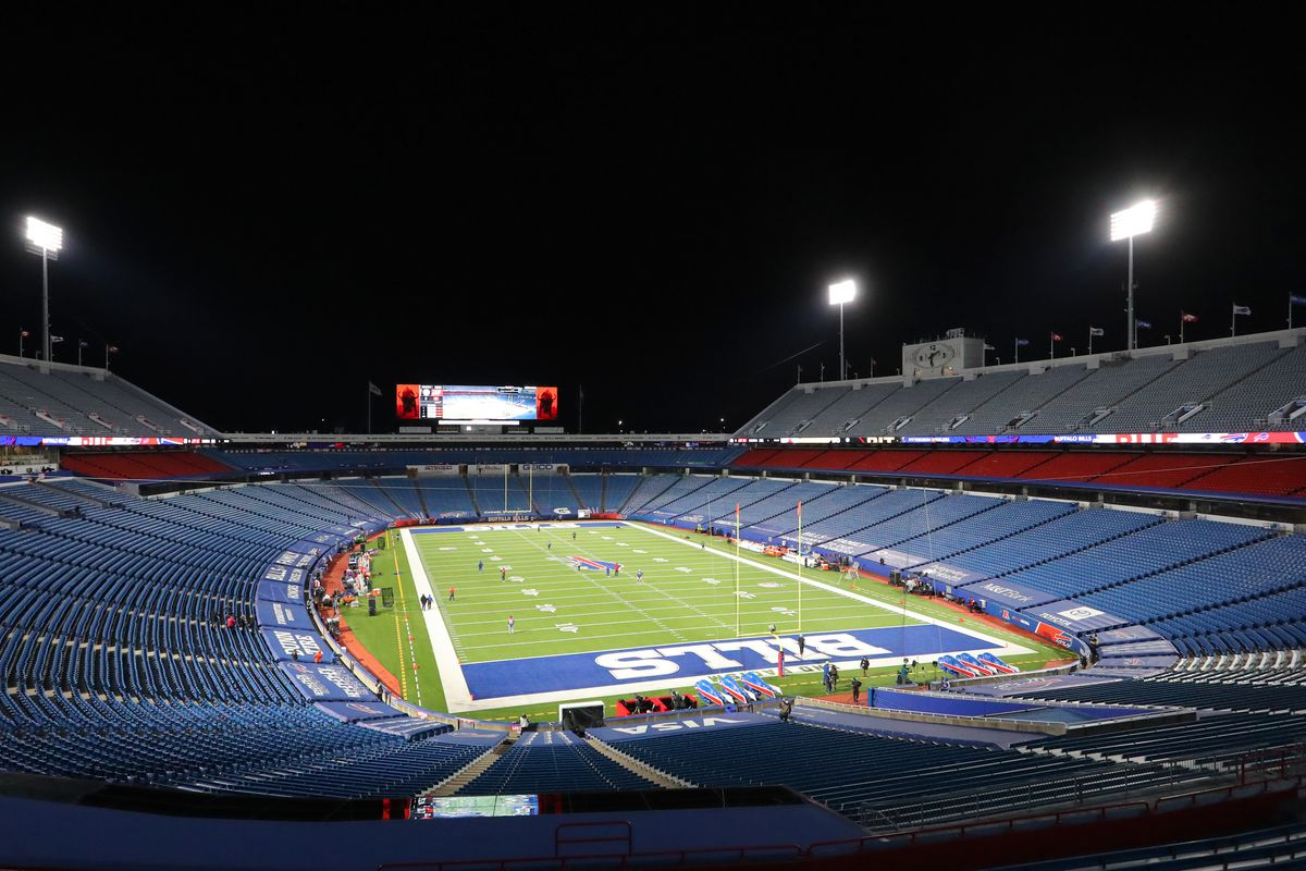A general view of Bills Stadium before a game between the Buffalo Bills and the Pittsburgh Steelers on December 13, 2020 in Orchard Park, New York.