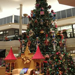 Custom-designed for the mall, the Bloomingdale's Court holiday tree measures in at 48 feet.