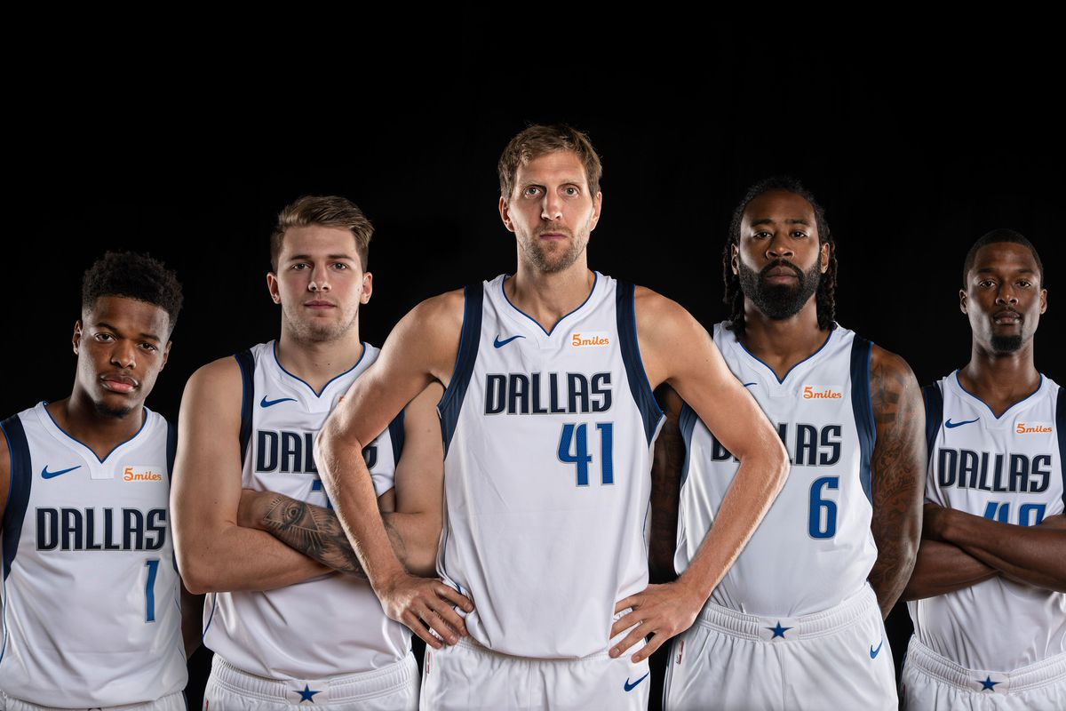 Dallas Mavericks Season Preview its Luka Doncics world, and were all  just living in it - Mavs Moneyball
