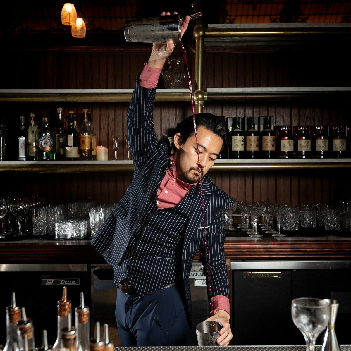 Bartender at The Wolves in LA