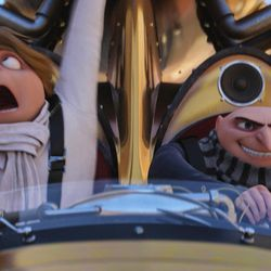 """Dru (Steve Carell) and Gru (Steve Carell) in """"Despicable Me 3."""""""