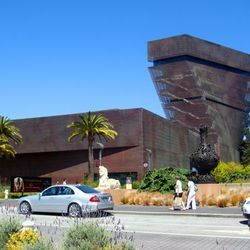 Give her a gift she can use all year with her little ones. An individual or family membership to the <b>De Young Museum</b> will give her a chance to enjoy art in he favorite place while exposing the kids to new exhibits. Afterwards, she can squeeze in an