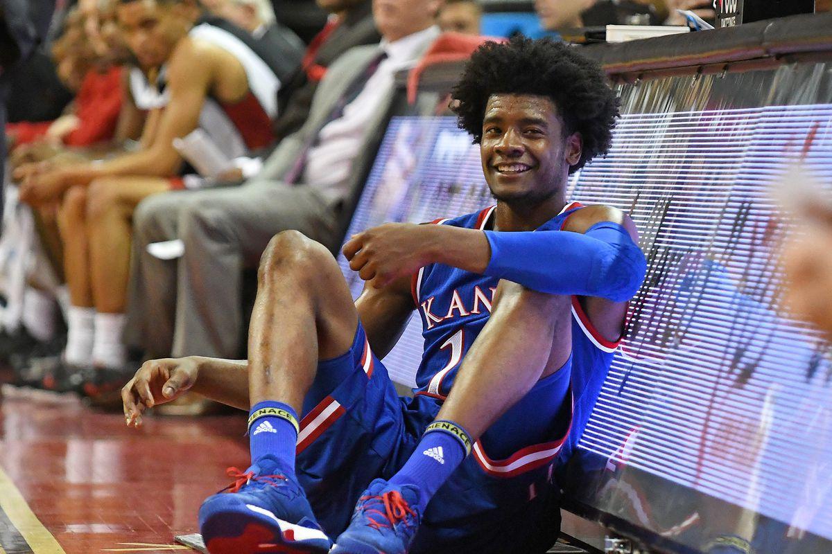 NCAA Basketball: Kansas at UNLV