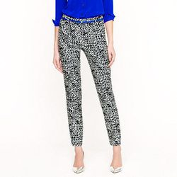 """<a href= """"http://www.jcrew.com/AST/Navigation/Sale/AllProducts/PRDOVR~13842/99102812095/ENE~1+2+3+22+4294967294+20~90~~20+17~90~~~~~~~/13842.jsp"""">Collection graphic print pant</a>, $56"""