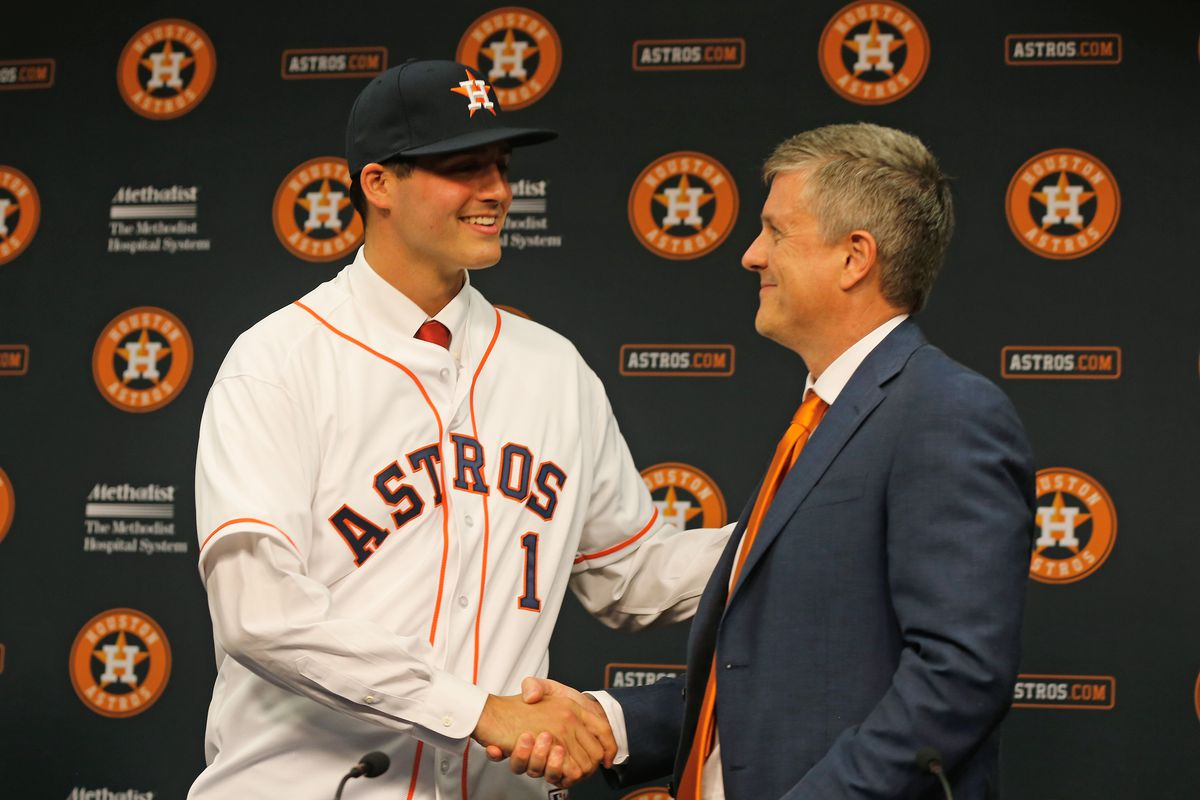 Mark Appel and Jeff Luhnow, each of whom are probably wishing for a do-over of the 2014 season