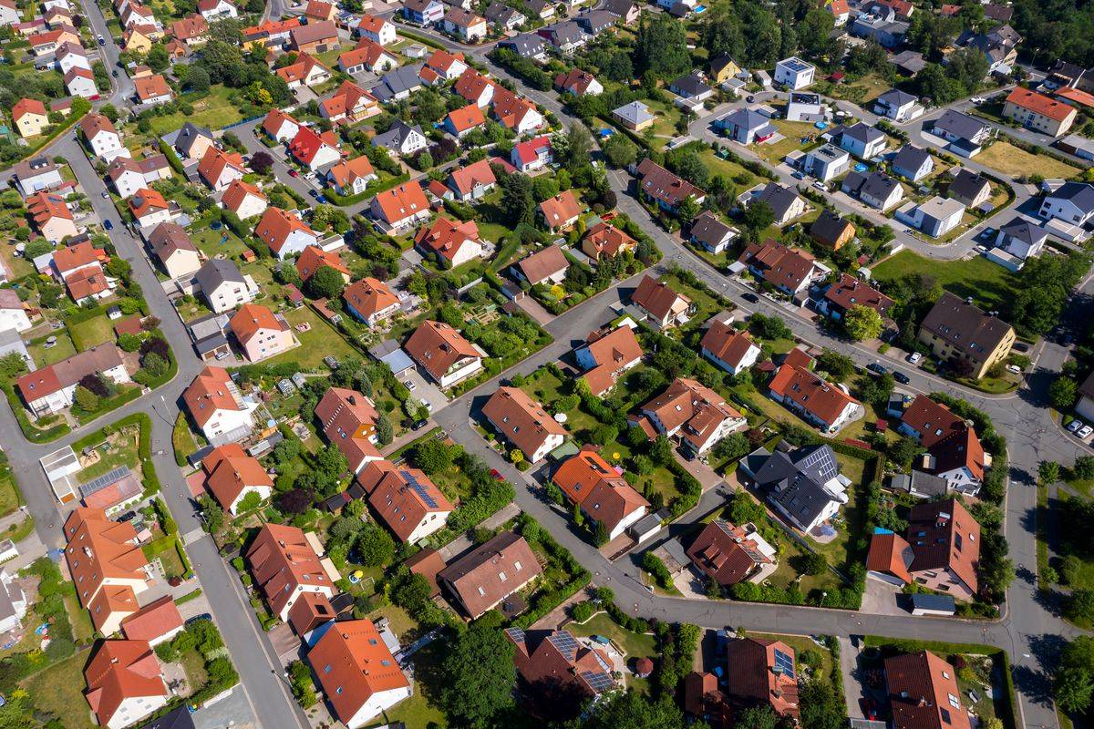 Aerial housing development