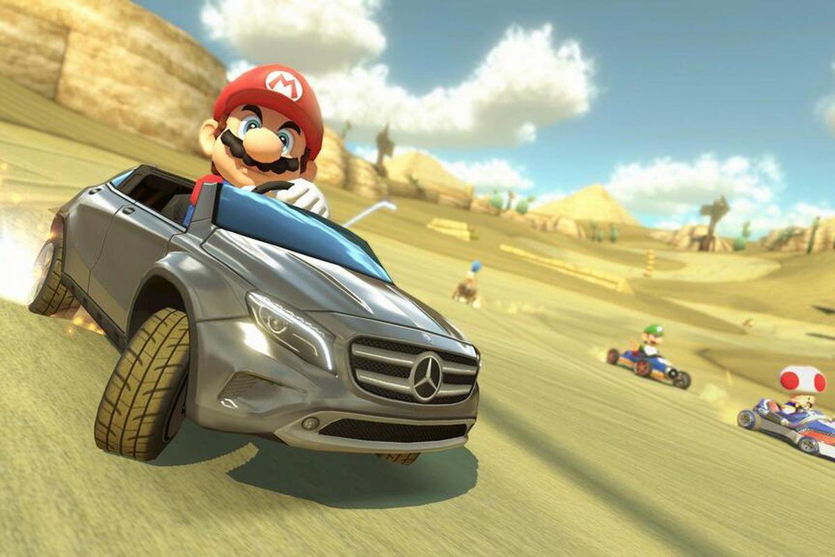 Drive a Mercedes in 'Mario Kart 8' - The Verge