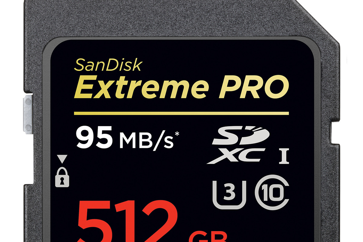 Sandisk S 512gb Sd Card Is The Biggest In The World The Verge