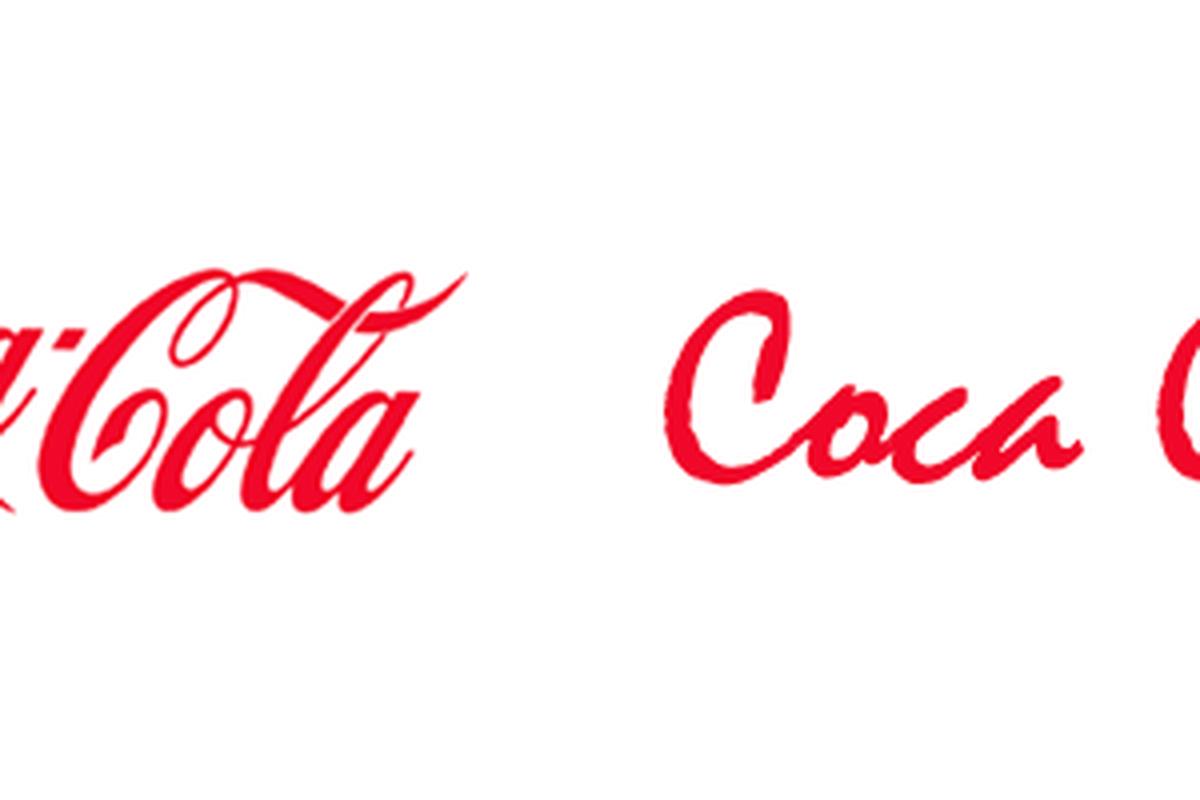Coca Cola logo reworked