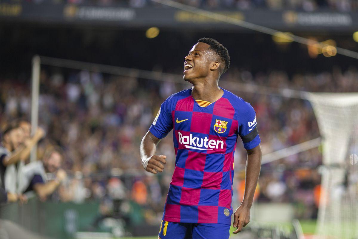 Barcelona V Valencia, La Liga regular season.