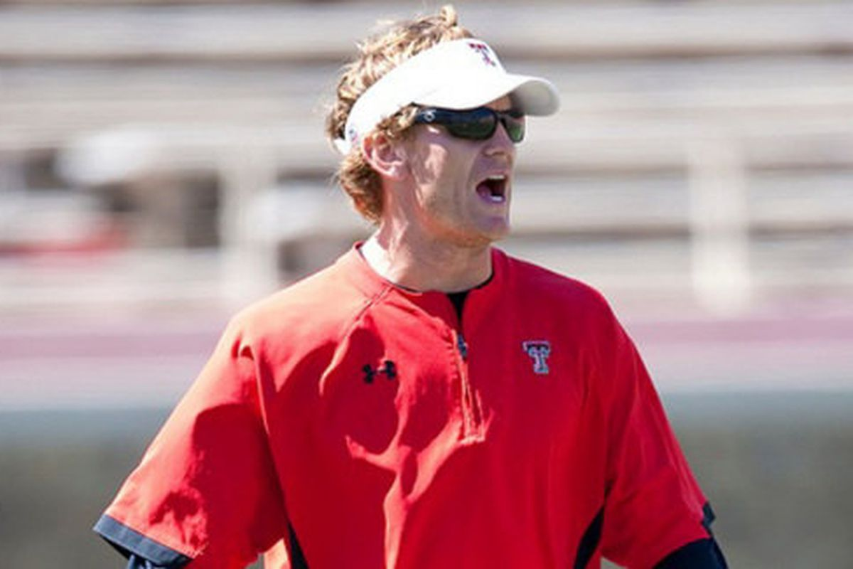 Sonny Cumbie has accepted a position at TCU.