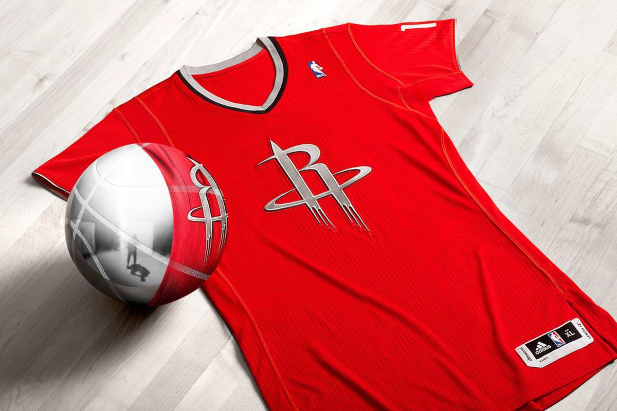 Rockets sleeved jersey for Christmas Day released - The Dream Shake
