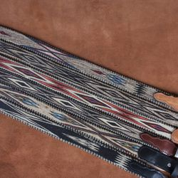 Horsehair belt, $450. Available in black, brown, tan.
