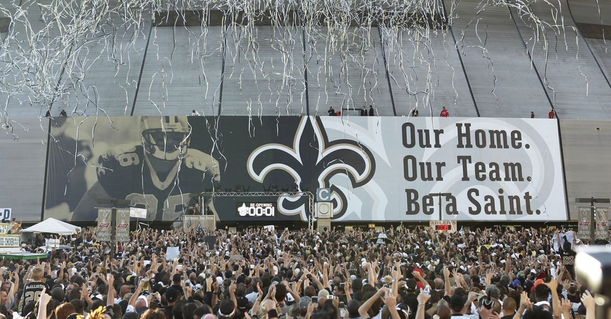 As the Saints return to New Orleans, New Orleans returns to life