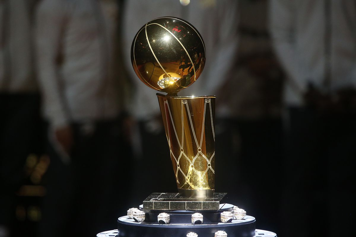 See the Larry O'Brien Trophy at the Toronto Raptors Championship Showcase at Scotiabank Arena