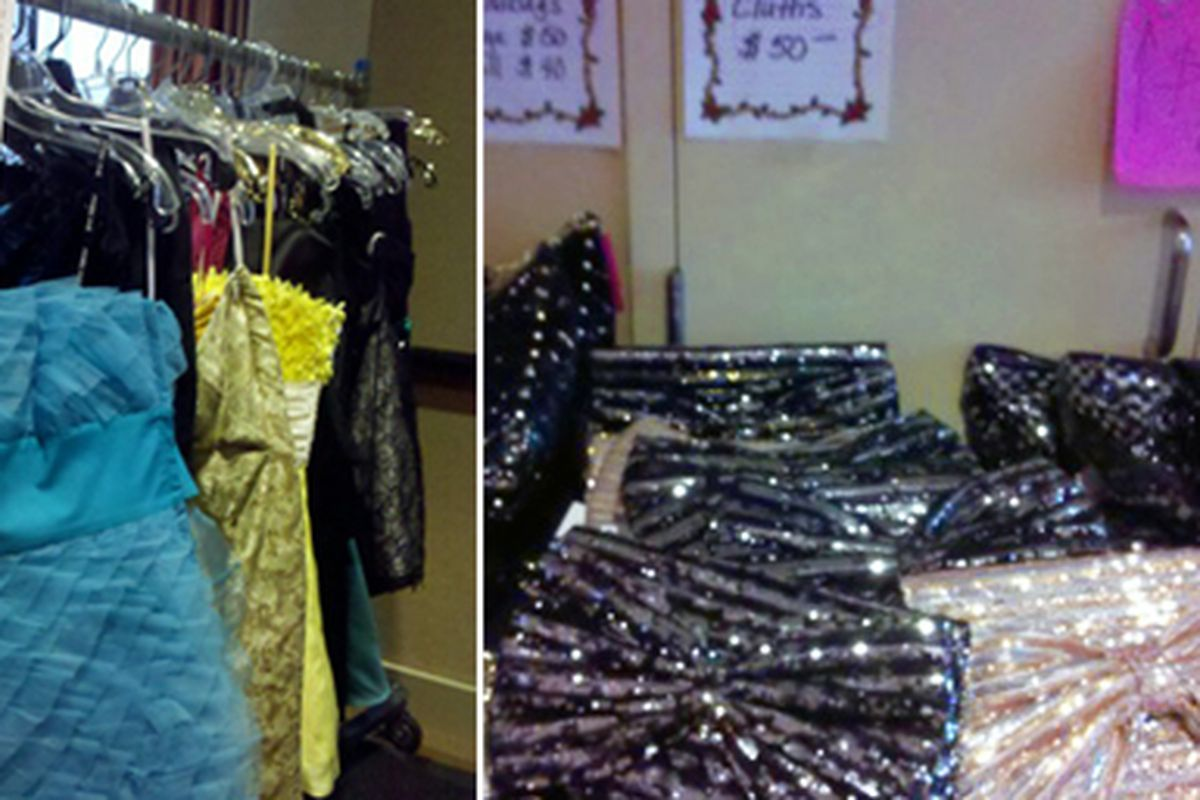 """Images via <a href=""""http://onthesly.tumblr.com/post/4424117764/sly-eye-betsey-johnson-sample-sale"""">On the Sly</a>"""