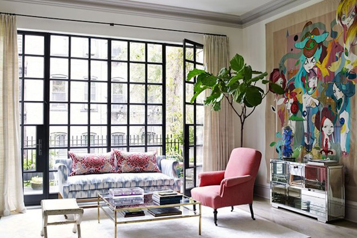 """All photos by <a href=""""http://ngocminhngo.com/"""">Ngoc Minh Ngo</a>  via <a href=""""http://www.houseandgarden.co.uk/interiors/real-homes/town-house-manhattans-west-village"""">House &amp; Garden</a>"""