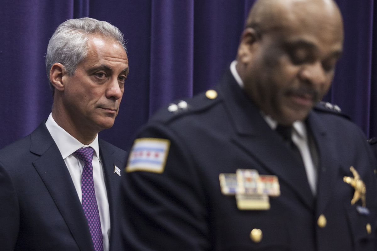 Mayor Rahm Emanuel in March announced he was appointing Eddie Johnson, the current Chief of Patrol, as the interim superintendent of the Chicago Police Department. | Sun-Times file photo