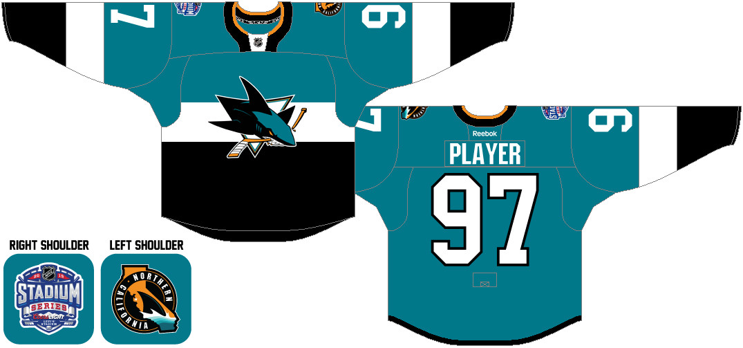 buy online 38fd9 83468 The Daily Chum: What's the best Sharks jersey of all time ...