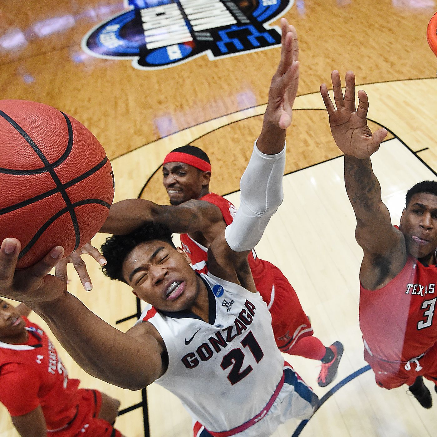 Gonzaga And Texas Tech Schedule Neutral Game For Next Season The Slipper Still Fits