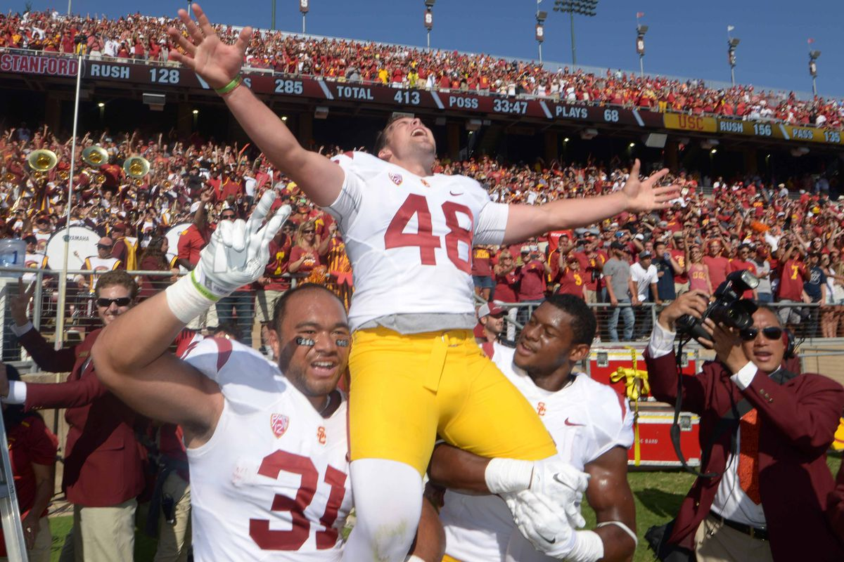 What a great day for USC Football