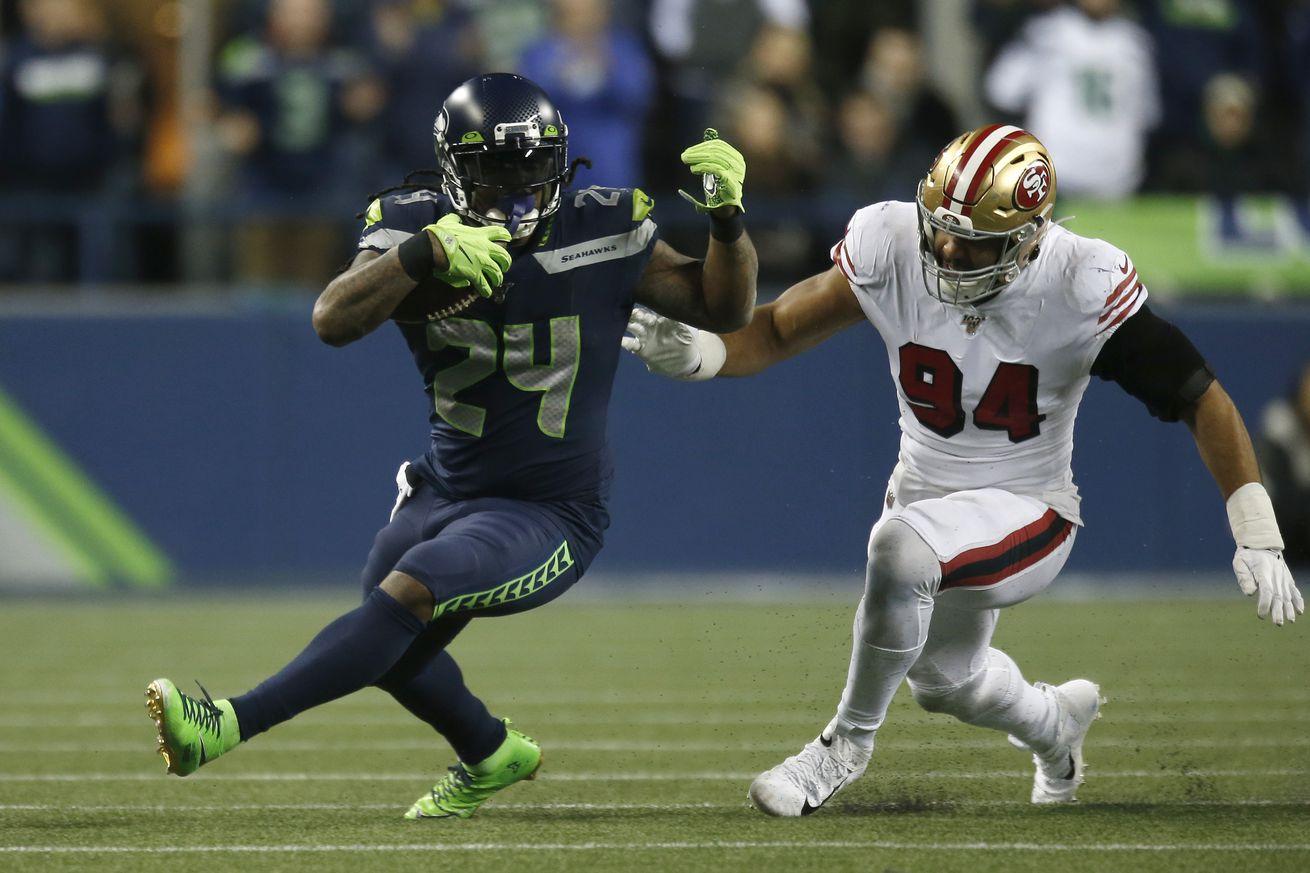 San Francisco 49ers vSeattle Seahawks