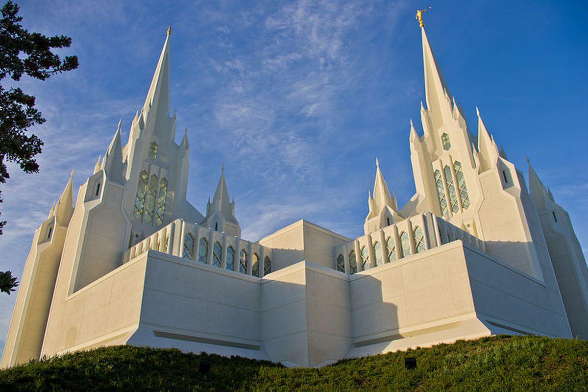 Mormon church Antoine Taveneaux