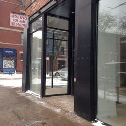 The Nike store next to American Apparel also shuttered at the end of December.