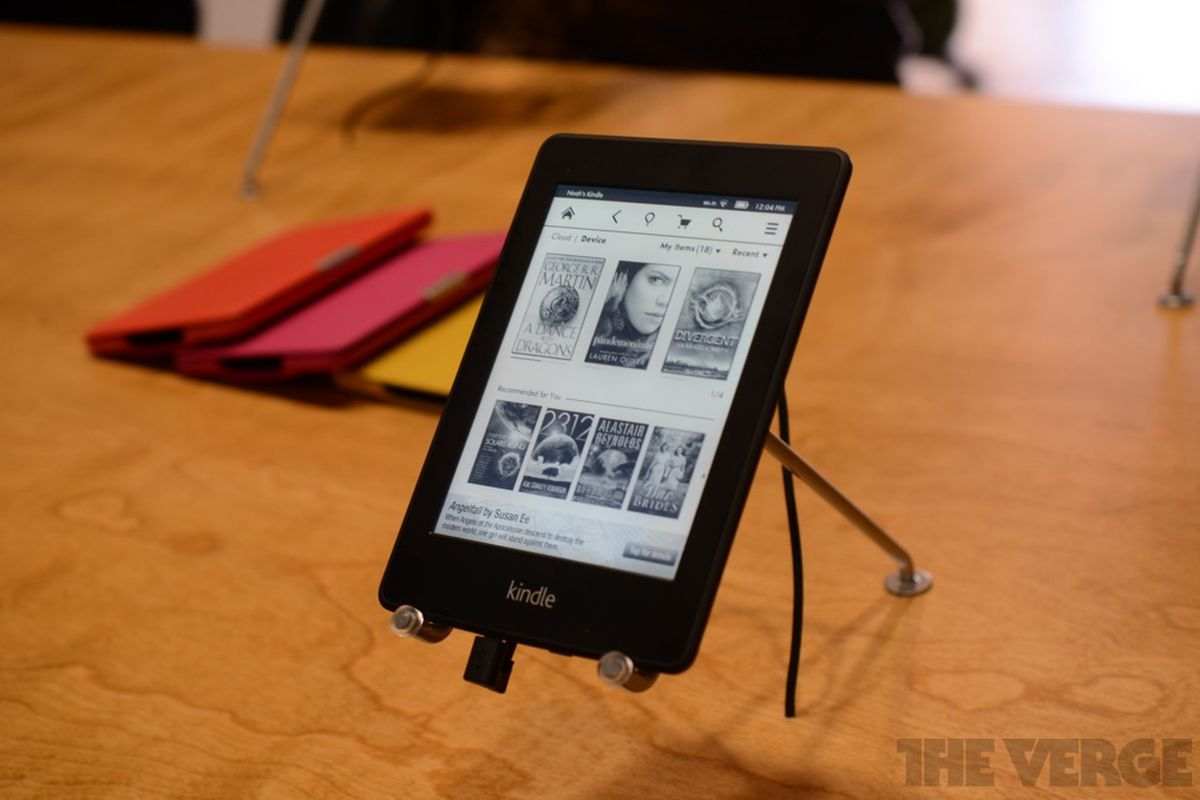 Amazon Kindle Paperwhite hands-on pictures and video - The Verge